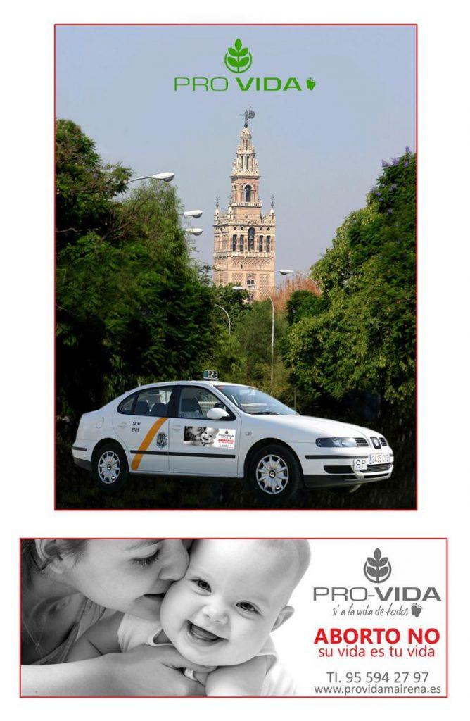 Cartel Apadrina Taxi